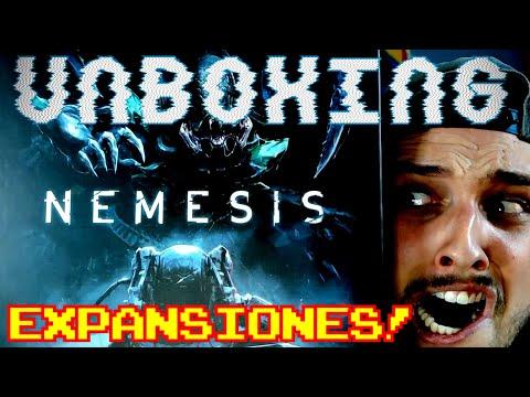 EXPANSIONES DE NEMESIS!! || Unboxing