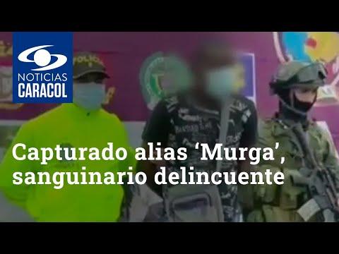 Fue capturado alias 'Murga', sanguinario delincuente que operaba en Tumaco