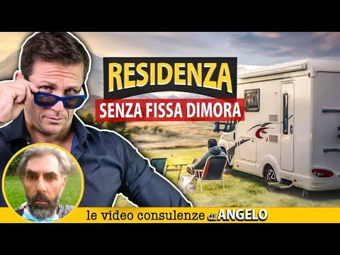 RESIDENZA SENZA FISSA DIMORA | Avv. Angelo Greco