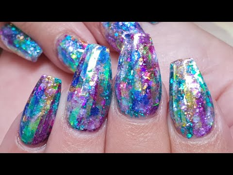 Northern Lights Nails - Acrylic Nails - Salon Design