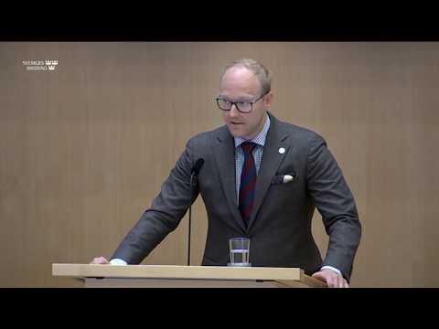 Ludvig Aspling - biståndspengar ska inte gå till terrorister