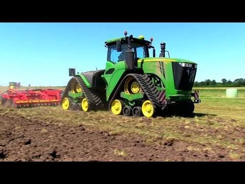 Ploughing, Soil cultivation and seed drilling Demo 2018 at borgeby fair
