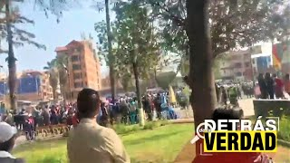 Bolivia   Abuchean a Arturo Murillo en actos protocolares de Quillacollo Cochabamba
