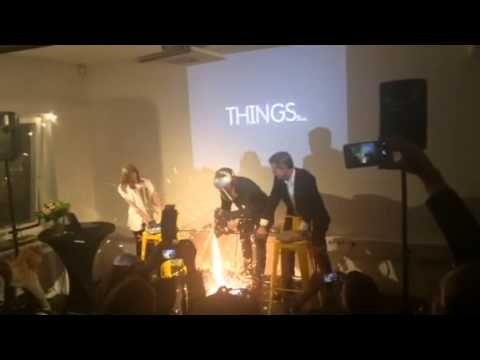 THINGS opening ceremony March 26