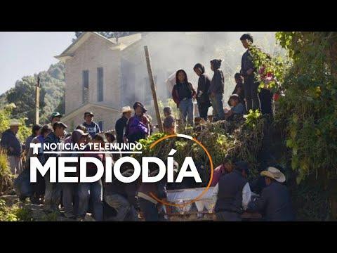 Emiten declaración de emergencia para Chiapas y Tabasco | Noticias Telemundo