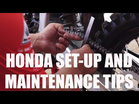 Honda Set-Up and Maintenance Tips