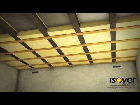 Isolering af loft i kold kælder