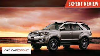 Toyota Fortuner AT 4X4 | Expert Review | CarDekho.com