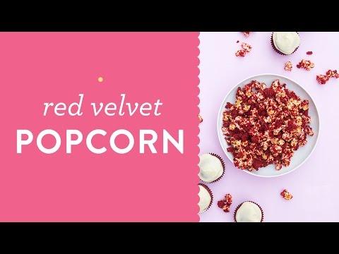 Easy Red Velvet Popcorn Recipe