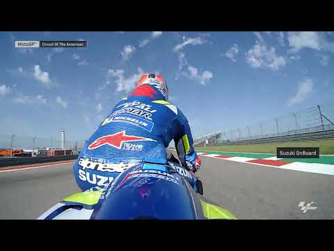 Suzuki Ecstar OnBoard:Grand Prix of the Americas