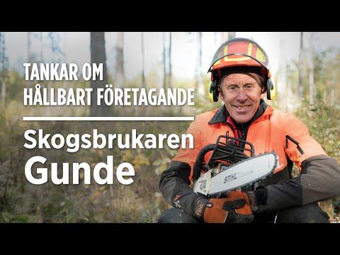 Skogsbrukaren Gundes tankar om hållbart företagande
