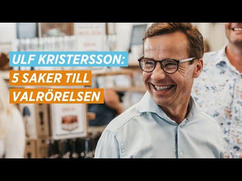 Ulf Kristersson på MUF:s valupptakt 2018