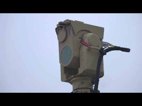U.S. Marine Corps test the Compact Laser Weapon System in North Carolina