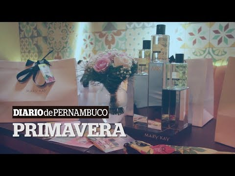 Mary Kay lança no Recife três novas fragrâncias