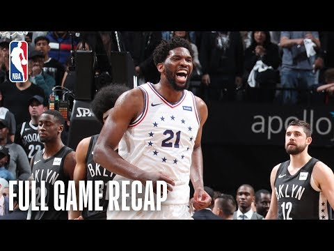 76ERS vs NETS   Fantastic Thrilling Ending in Brooklyn   Game 4