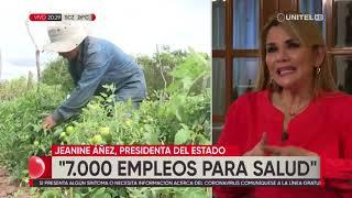 Entrevista completa a la presidenta Jeanine Áñez