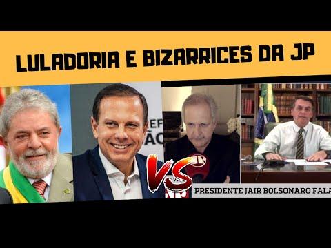 LULADORIA E A BIZARRA ENTREVISTA DE BOLSONARO NA JOVEM PAN!