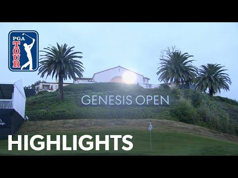 Highlights | Round 2 | Genesis Open 2019