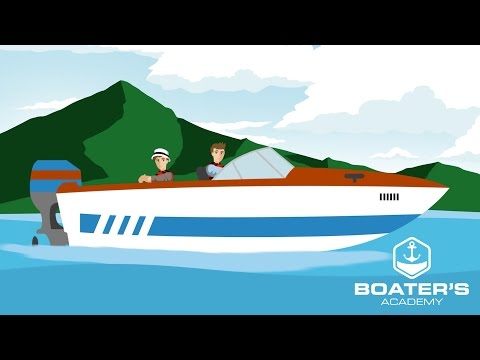 Boater's Academy (Overview) - Online Boating Course - Motion Graphics Animation Illustration