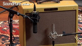 Royer 101 and Royer 121 Comparison Demo at Sound Pure Studios