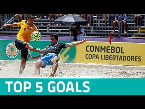 TOP 5 GOALS - COPA LIBERTADORES FÚTBOL PLAYA 2016