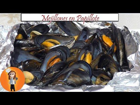 Mejillones en Papillote | Receta de Cocina en Familia