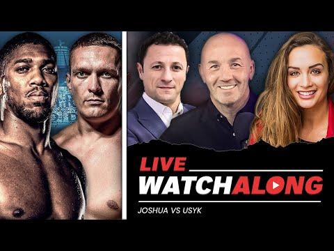 Anthony Joshua vs. Oleksandr Usyk [ LIVE WATCHALONG ] w/ Ali Drew, Barry Jones & Don Charles