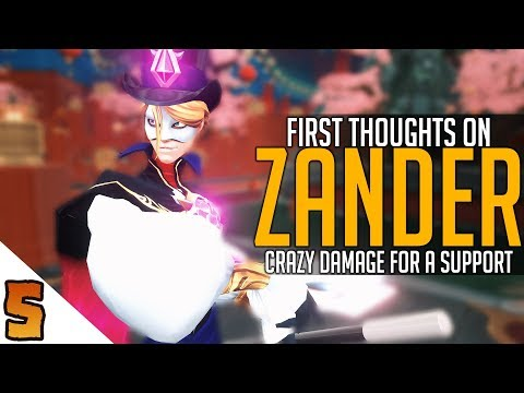 connectYoutube - Zander: First Thoughts
