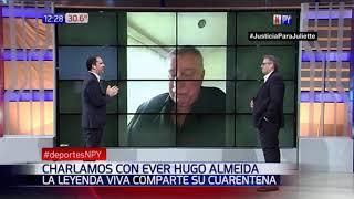 Ever Hugo Almeida en exclusiva con Deportes NPY