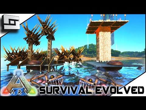 Download Youtube To Mp3: ARK: Survival Evolved   BUILDABLE PLESIO SADDLE!  ELEVATOR! BALLISTA! S2E18 ( Gameplay )