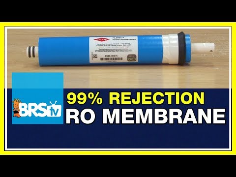 FAQ #47: Shouldn't I be getting 99% TDS rejection from my RO membrane? | 52 FAQ