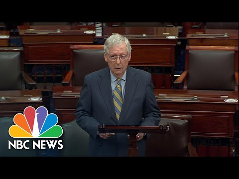 McConnell: Democrats 'Threaten Our System' By Blocking Vote On Supreme Court Nominee | NBC News NOW