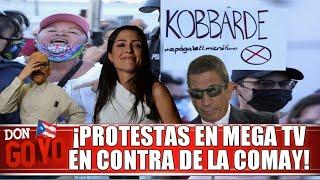 ???? ¡La Comay dice no tener miedo a las protestas frente a Mega TV! ????????