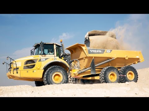 Volvo CE – The Megaproject Listing #4 – The hauler walkaround