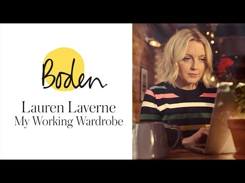 boden.co.uk & Boden Voucher Code video: My working week: Lauren Laverne wears Boden's colourful workwear