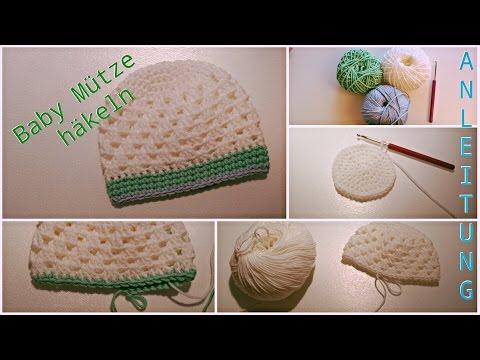 Baby Mütze Häkeln Beanie Für Neugeborene 0 3 Monate Tomclip