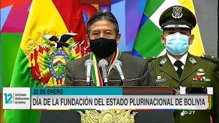 Mensaje Vicepresidente David Choquehuanca en los 12 años del Estado Plurinacional de Bolivia 2021