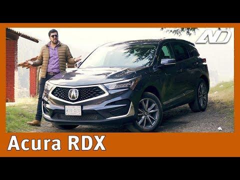 Acura RDX - Subestimada y prácticamente nada japonesa