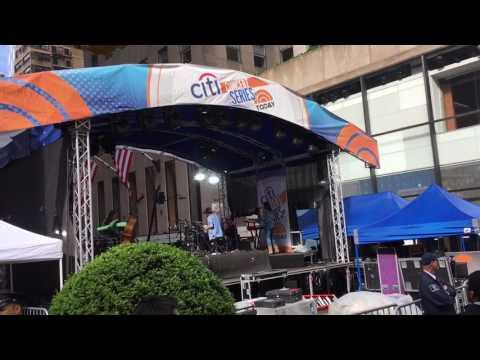 Miley Cyrus Rockefella Center NBC The Today Show Citi Bank Concert Series May 26, 2017