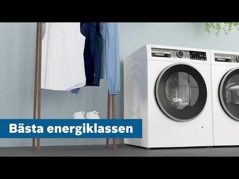Bosch tvättmaskiner med den bästa energiklassen A.