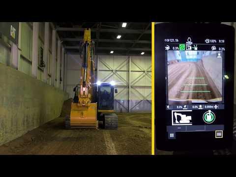 Förarinstruktioner, Cat 320 Next Generation: E-fence Swing