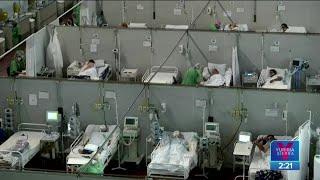 Brasil reporta más de 4 mil muertes por Covid-19 en un día | Noticias con Yuriria Sierra