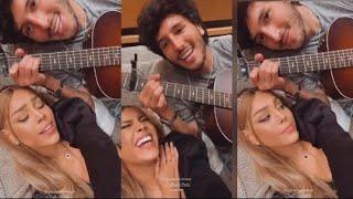 Sebastian Yatra y Danna Paola Enamoran a sus fans con un Tierno video