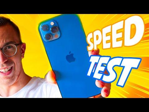 iPhone 12 vs iPhone 11 SPEED TEST!