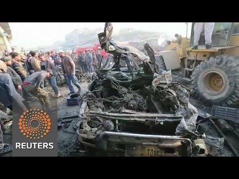 Car bomb in eastern Baghdad kills 12, wounds dozens