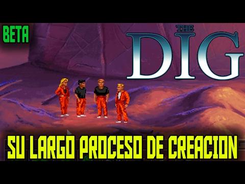 The Dig y su largo proceso de creación - Lucasarts - Spielberg - Lucas - Falstein - Moriarty - BETA