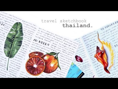 Travel Sketchbook Tour – Thailand