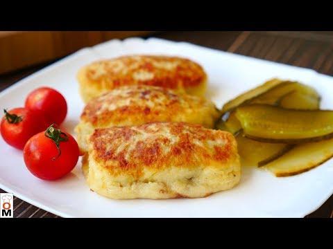 Картофельные Пирожки с Мясом