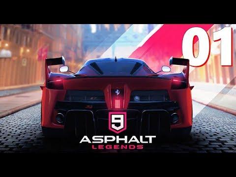 Asphalt 9 Legends - Career Play Through Part 1 - Iphone 8s Plus Footage