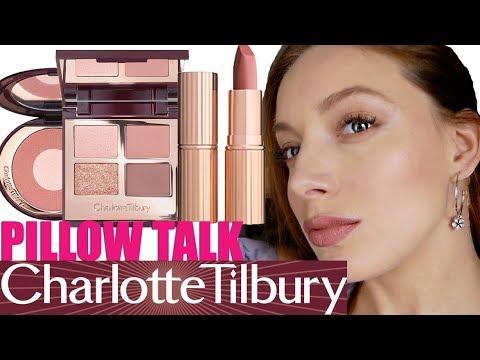 Макияж с CHARLOTTE TILBURY PILLOW TALK 💖Все лицо одним брендом